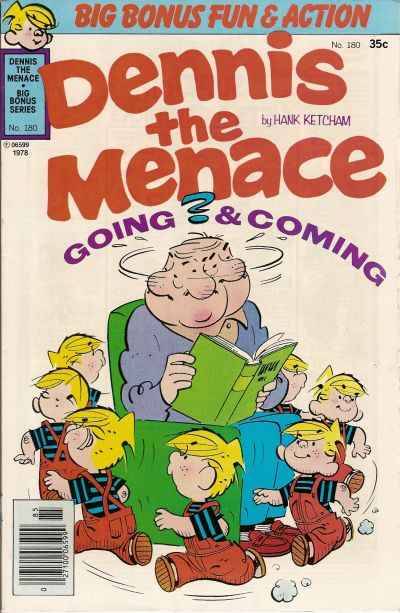 Dennis the Menace Bonus Magazine #180 Comic Books - Covers, Scans, Photos  in Dennis the Menace Bonus Magazine Comic Books - Covers, Scans, Gallery