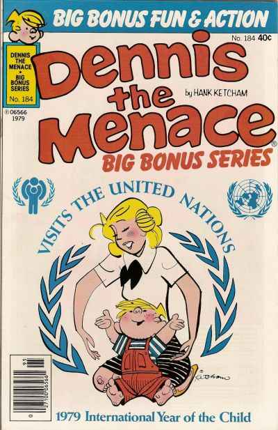 Dennis the Menace Bonus Magazine #184 Comic Books - Covers, Scans, Photos  in Dennis the Menace Bonus Magazine Comic Books - Covers, Scans, Gallery