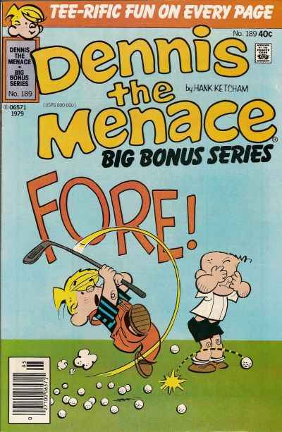 Dennis the Menace Bonus Magazine #189 Comic Books - Covers, Scans, Photos  in Dennis the Menace Bonus Magazine Comic Books - Covers, Scans, Gallery