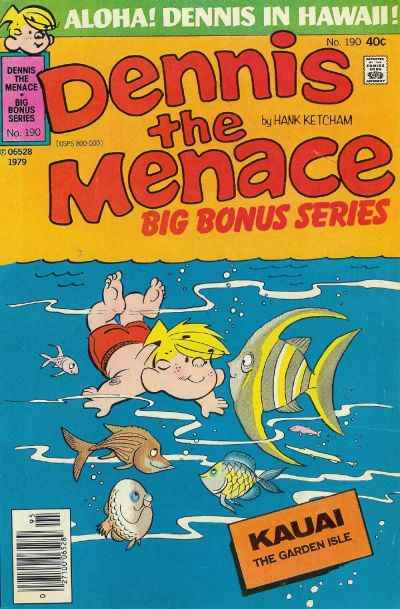 Dennis the Menace Bonus Magazine #190 Comic Books - Covers, Scans, Photos  in Dennis the Menace Bonus Magazine Comic Books - Covers, Scans, Gallery