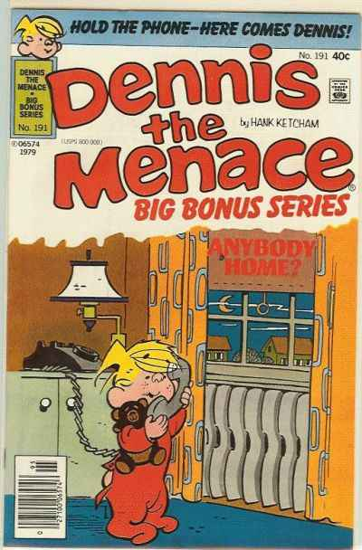 Dennis the Menace Bonus Magazine #191 Comic Books - Covers, Scans, Photos  in Dennis the Menace Bonus Magazine Comic Books - Covers, Scans, Gallery