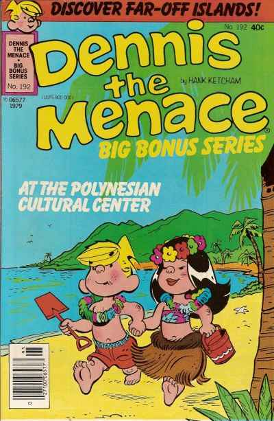 Dennis the Menace Bonus Magazine #192 comic books for sale