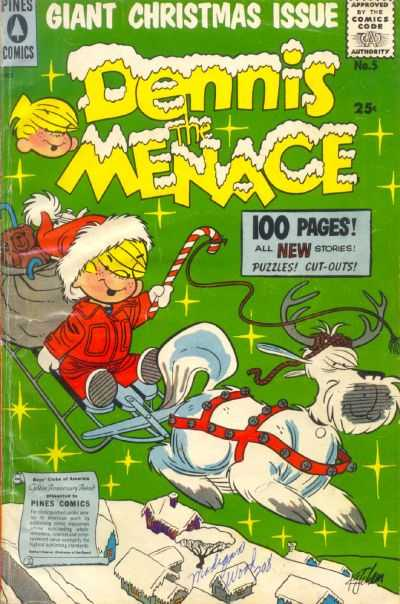 Dennis the Menace Giants #5 Comic Books - Covers, Scans, Photos  in Dennis the Menace Giants Comic Books - Covers, Scans, Gallery