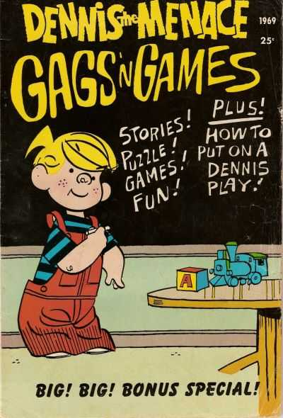 Dennis the Menace Giants #66 comic books for sale