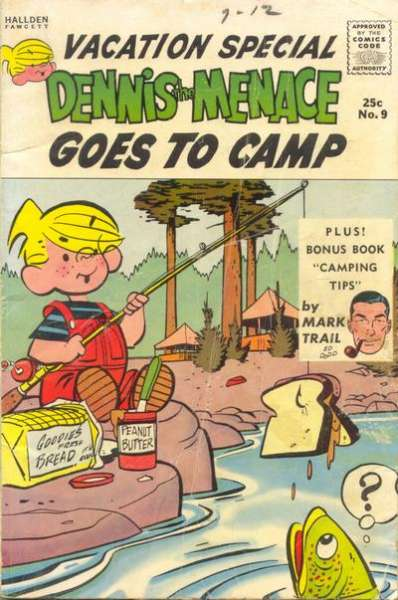 Dennis the Menace Giants #9 comic books - cover scans photos Dennis the Menace Giants #9 comic books - covers, picture gallery