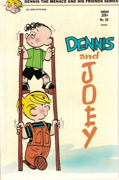 Dennis the Menace and His Friends #26 comic books - cover scans photos Dennis the Menace and His Friends #26 comic books - covers, picture gallery