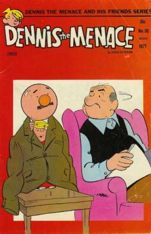Dennis the Menace and His Friends #36 comic books for sale