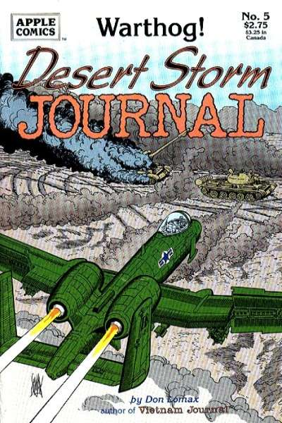 Desert Storm Journal #5 Comic Books - Covers, Scans, Photos  in Desert Storm Journal Comic Books - Covers, Scans, Gallery