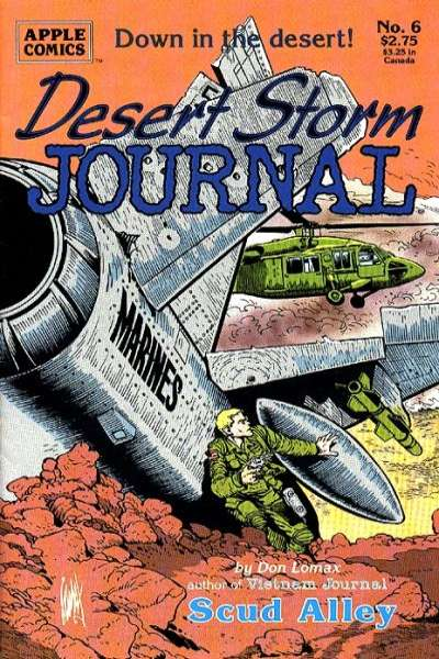 Desert Storm Journal #6 Comic Books - Covers, Scans, Photos  in Desert Storm Journal Comic Books - Covers, Scans, Gallery