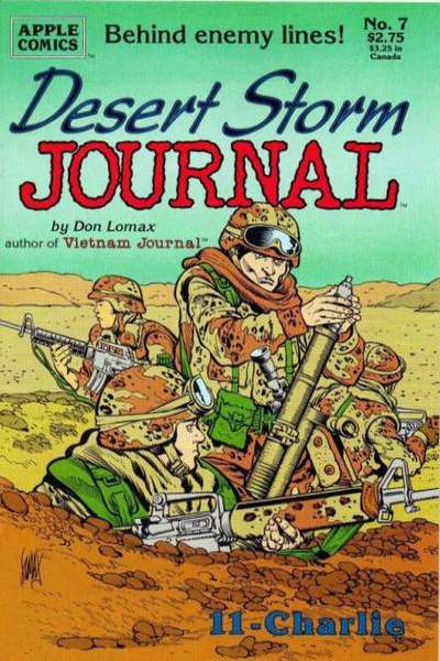 Desert Storm Journal #7 comic books for sale