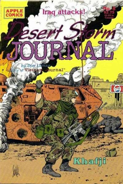 Desert Storm Journal #8 comic books for sale