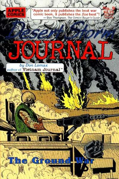 Desert Storm Journal #9 Comic Books - Covers, Scans, Photos  in Desert Storm Journal Comic Books - Covers, Scans, Gallery