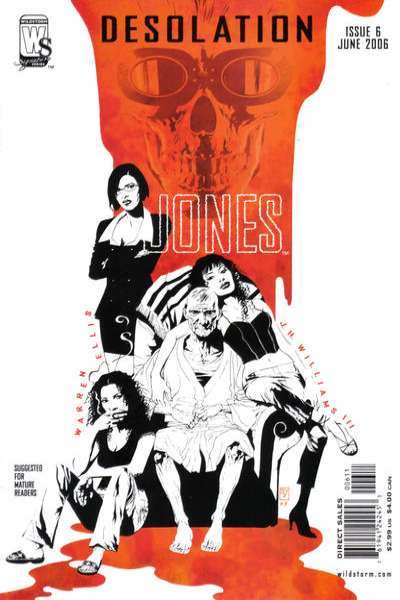 Desolation Jones #6 comic books for sale