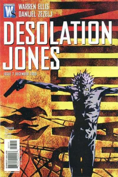 Desolation Jones #7 comic books - cover scans photos Desolation Jones #7 comic books - covers, picture gallery