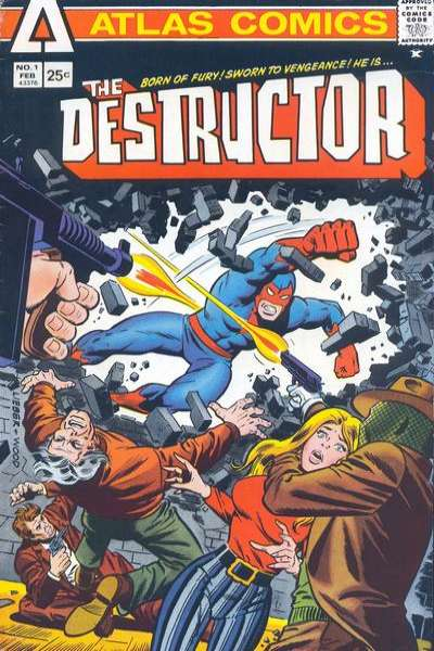 Destructor comic books