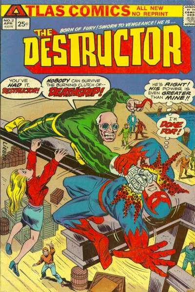 Destructor #2 comic books for sale