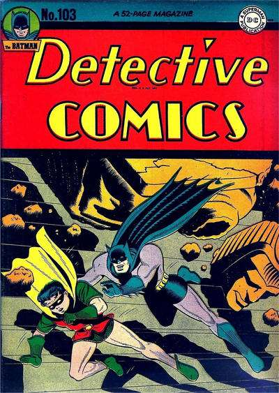 Detective Comics #103 comic books for sale