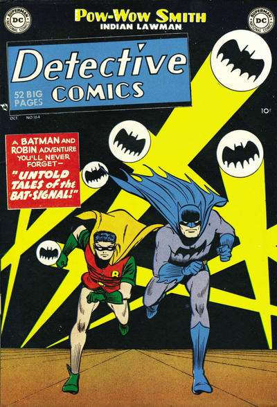 Detective Comics #164 Comic Books - Covers, Scans, Photos  in Detective Comics Comic Books - Covers, Scans, Gallery