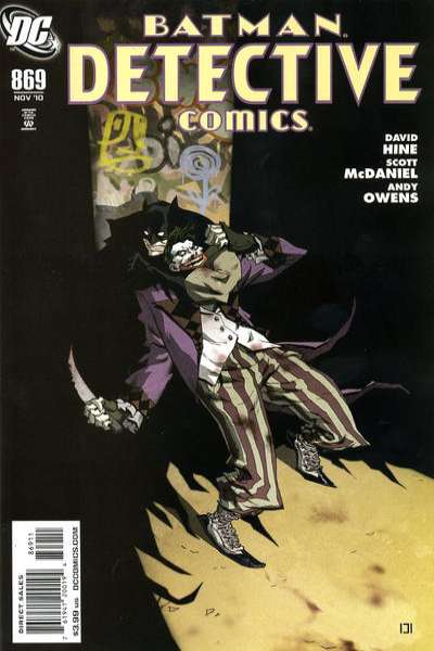 Detective Comics #869 comic books - cover scans photos Detective Comics #869 comic books - covers, picture gallery