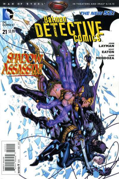 Detective Comics #21 comic books - cover scans photos Detective Comics #21 comic books - covers, picture gallery