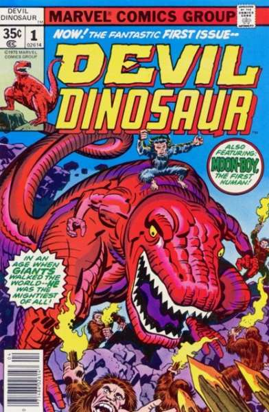 Devil Dinosaur #1 Comic Books - Covers, Scans, Photos  in Devil Dinosaur Comic Books - Covers, Scans, Gallery