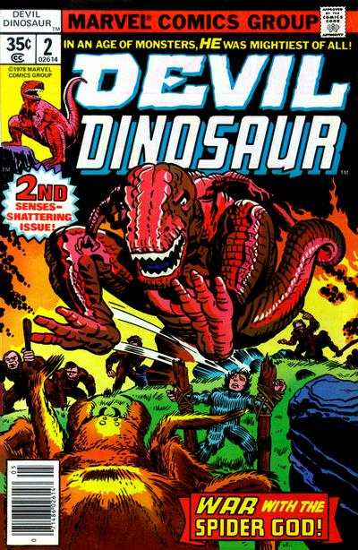 Devil Dinosaur #2 Comic Books - Covers, Scans, Photos  in Devil Dinosaur Comic Books - Covers, Scans, Gallery