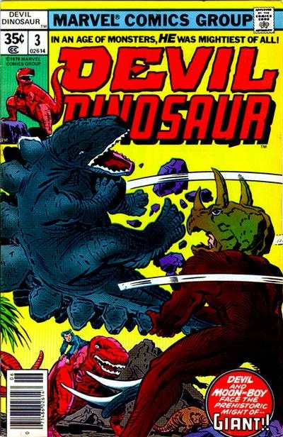Devil Dinosaur #3 comic books - cover scans photos Devil Dinosaur #3 comic books - covers, picture gallery