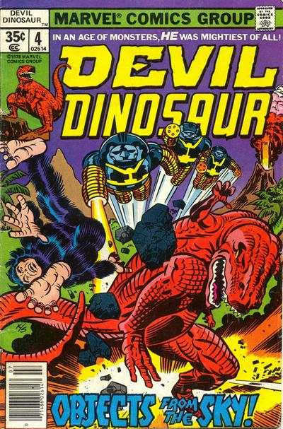 Devil Dinosaur #4 Comic Books - Covers, Scans, Photos  in Devil Dinosaur Comic Books - Covers, Scans, Gallery