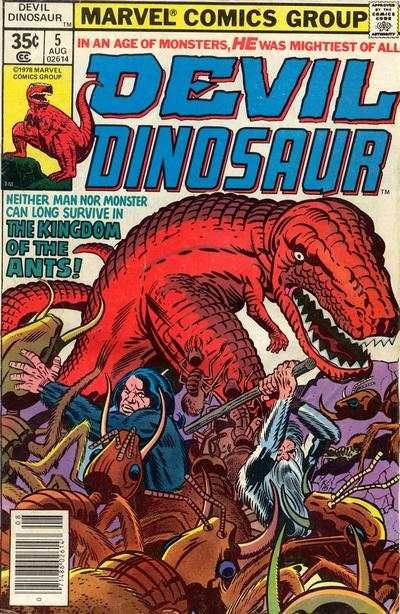 Devil Dinosaur #5 comic books - cover scans photos Devil Dinosaur #5 comic books - covers, picture gallery