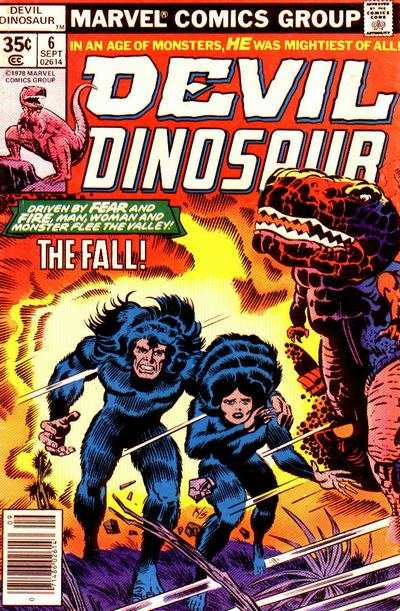 Devil Dinosaur #6 comic books - cover scans photos Devil Dinosaur #6 comic books - covers, picture gallery
