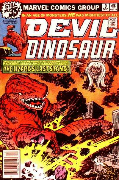 Devil Dinosaur #9 comic books for sale
