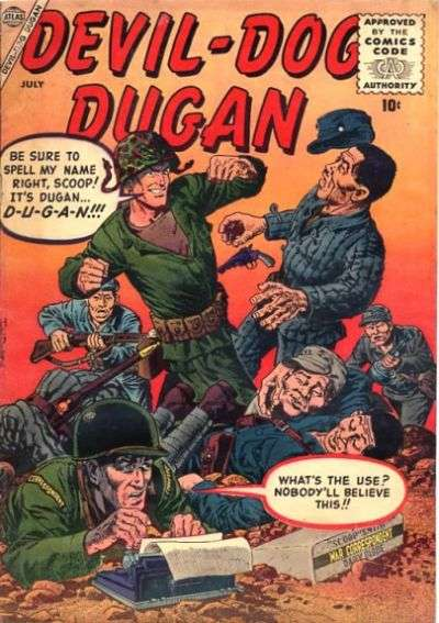 Devil Dog Dugan comic books