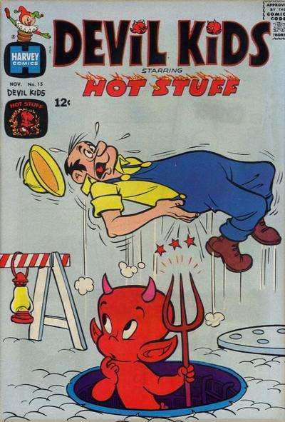 Devil Kids starring Hot Stuff #15 Comic Books - Covers, Scans, Photos  in Devil Kids starring Hot Stuff Comic Books - Covers, Scans, Gallery