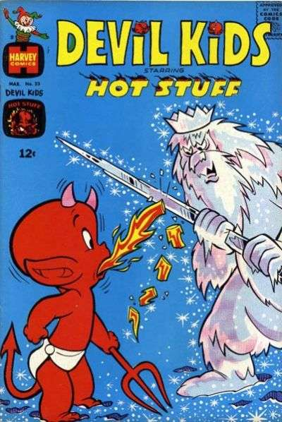 Devil Kids starring Hot Stuff #23 comic books for sale