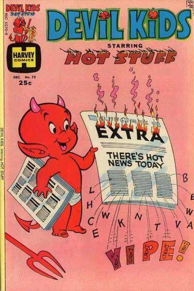 Devil Kids starring Hot Stuff #73 comic books for sale