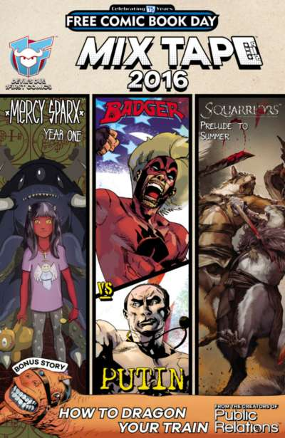 Devil's Due Studios Mix Tape 2016 Comic Books. Devil's Due Studios Mix Tape 2016 Comics.