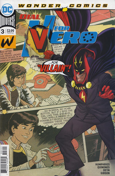 Dial H for Hero #3 comic books - cover scans photos Dial H for Hero #3 comic books - covers, picture gallery