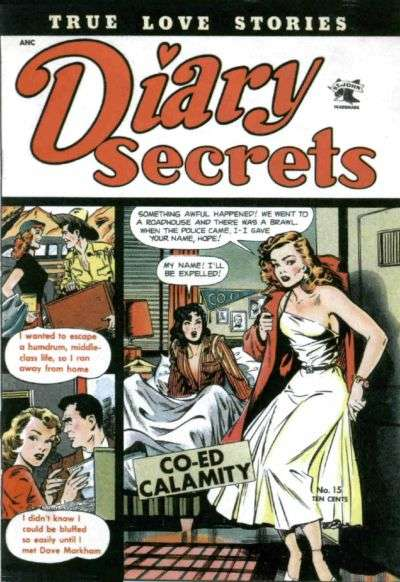 Diary Secrets #15 Comic Books - Covers, Scans, Photos  in Diary Secrets Comic Books - Covers, Scans, Gallery