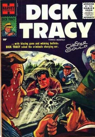 Dick Tracy #106 Comic Books - Covers, Scans, Photos  in Dick Tracy Comic Books - Covers, Scans, Gallery