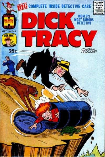 Dick Tracy #142 Comic Books - Covers, Scans, Photos  in Dick Tracy Comic Books - Covers, Scans, Gallery