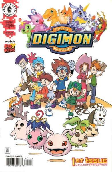 Digimon Digital Monsters Comic Books. Digimon Digital Monsters Comics.