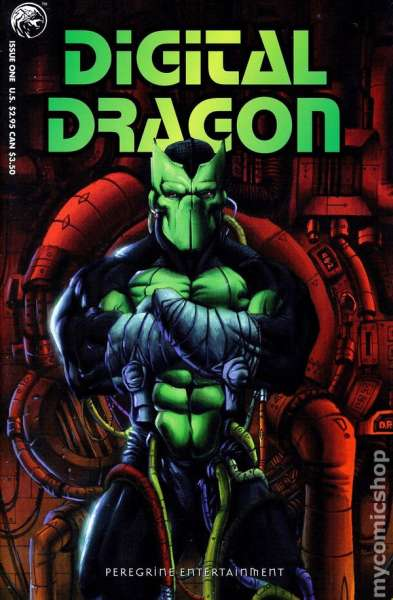 Digital Dragon #1 Comic Books - Covers, Scans, Photos  in Digital Dragon Comic Books - Covers, Scans, Gallery