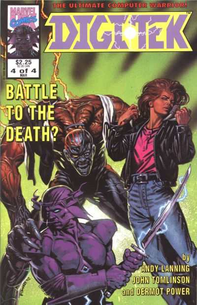Digitek #4 Comic Books - Covers, Scans, Photos  in Digitek Comic Books - Covers, Scans, Gallery