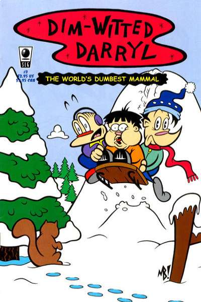 Dim-Witted Darryl #3 Comic Books - Covers, Scans, Photos  in Dim-Witted Darryl Comic Books - Covers, Scans, Gallery