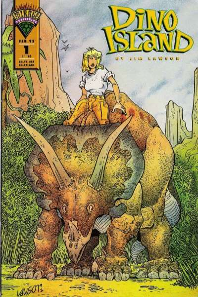 Dino Island comic books