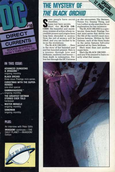 Direct Currents #10 Comic Books - Covers, Scans, Photos  in Direct Currents Comic Books - Covers, Scans, Gallery