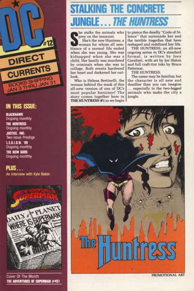 Direct Currents #12 Comic Books - Covers, Scans, Photos  in Direct Currents Comic Books - Covers, Scans, Gallery