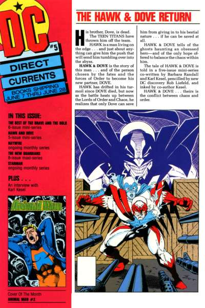 Direct Currents #5 Comic Books - Covers, Scans, Photos  in Direct Currents Comic Books - Covers, Scans, Gallery