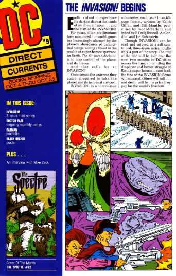 Direct Currents #9 Comic Books - Covers, Scans, Photos  in Direct Currents Comic Books - Covers, Scans, Gallery