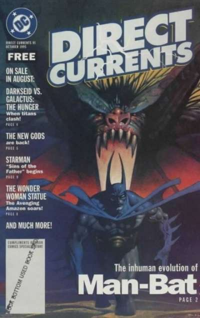 Direct Currents #91 comic books for sale